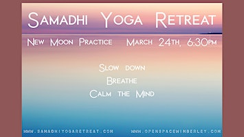 New Moon Practice: Slow Down, Breathe, Calm the Mind
