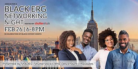 Black ERG Networking Night tickets