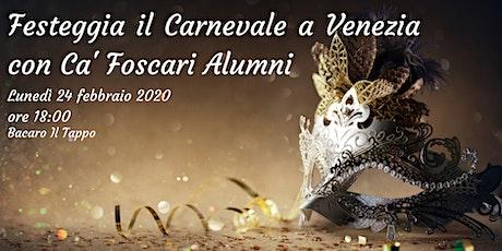 Festeggia il Carnevale a Venezia con Ca' Foscari Alumni biglietti