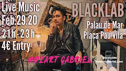 Mozart Gabriel - Live@BlackLab tickets