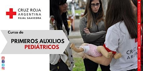 Primeros Auxilios Pediátricos - Abril entradas