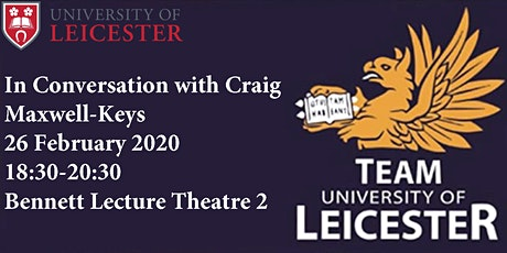 In Conversation with Craig Maxwell-Keys tickets