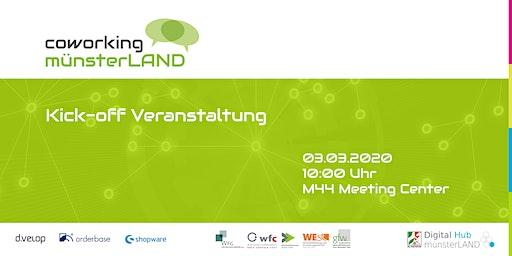 Kick-off Veranstaltung: coworking münsterLAND