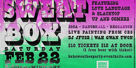 The Sweatbox Party tickets
