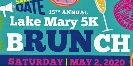 15th Annual Lake Mary 5k bRUNch tickets