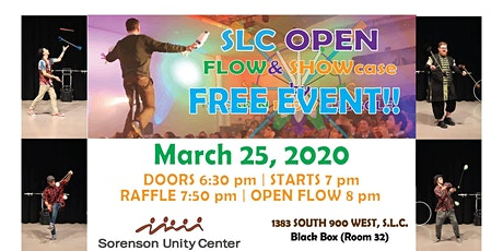 Spring FLOW & SHOWcase at Sorenson Unity Center tickets