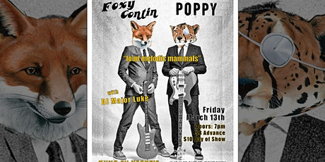 Poppy ~ Foxy Contin ~ DJ Major Luke tickets