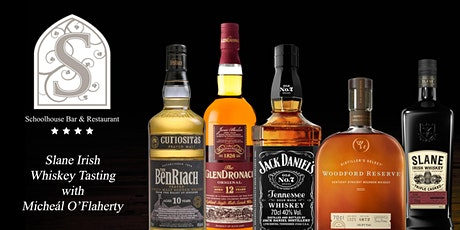 Schoolhouse Fireside Whiskey Tasting in conjunction with Micheál O'Flaherty tickets