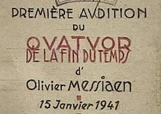 Lunchtime Recital - Messiaen - Quatuor pour la fin du temps tickets
