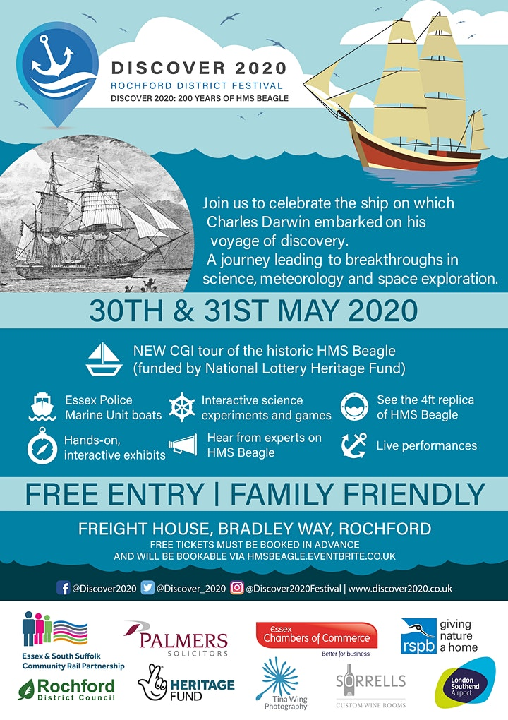 DISCOVER 2020: 200 YEARS OF HMS BEAGLE image