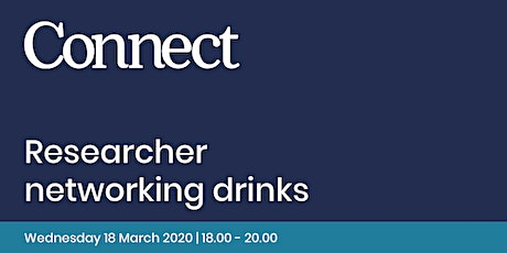 Researcher Networking Drinks tickets