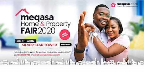 meqasa Home & Property Fair 2020 tickets