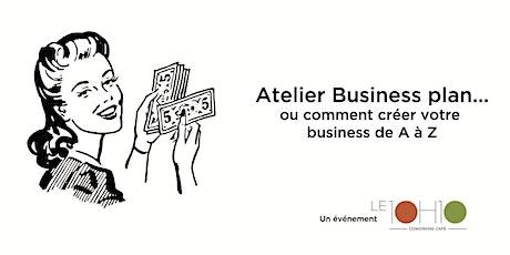 Atelier business plan tickets
