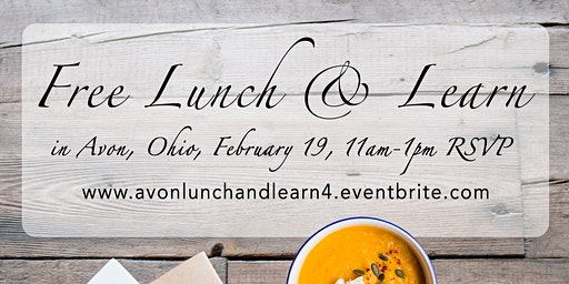 Realtor Lunch and Learn in Avon!