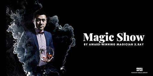 Family Magic Show by X.Ray - Aaniin Library