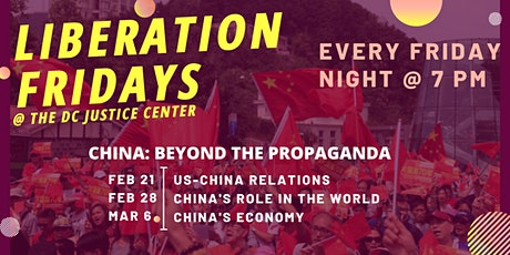 Liberation Fridays -- China: Beyond the Propaganda, a 3-part series tickets