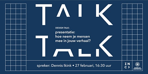 Design Talk: hoe neem je mensen mee in jouw verhaal?