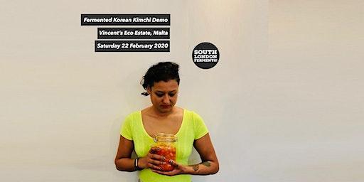 Kimchi Demo @ Vincent's Eco Estate Malta