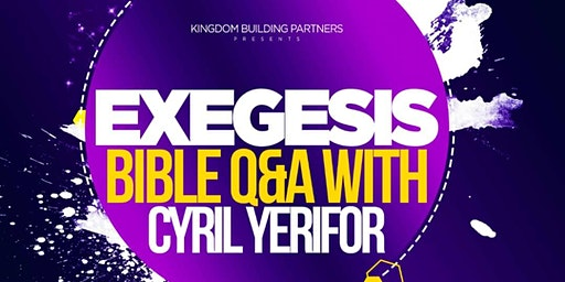 Exegesis Bible Questions and Answers