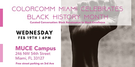ColorComm MIA - As A Matter of Black: The Roaring 20's Art Exhibition tickets