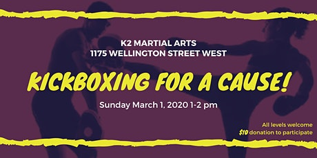 Kickboxing for a Cause! tickets