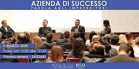AZIENDA DI SUCCESSO - SASSARI - MARZO 2020 biglietti