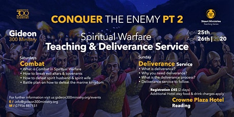 Spiritual Warfare Teaching & Deliverance Conference tickets