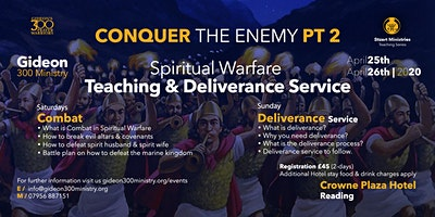 Spiritual Warfare Teaching & Deliverance Conference