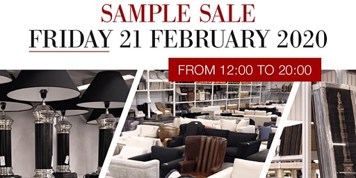 Eichholtz Sample Sale | Friday 21 February 2020