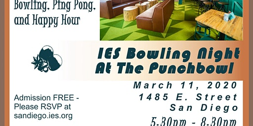 IESSD Bowling Night Out