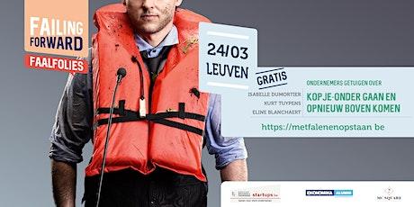 Failing Forward: Faalfolie Leuven 24 maart 2020 tickets