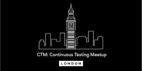 Continuous Testing Meetup - A Sneak Peek at Selenium 4 tickets