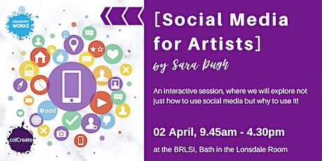 [Social Media for Artists] a workshop by Sara Pugh tickets