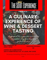 The Sdot Experience Presents a Culinary sampling & wine pairing