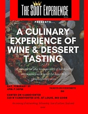 The Sdot Experience Presents a Culinary sampling & wine pairing tickets