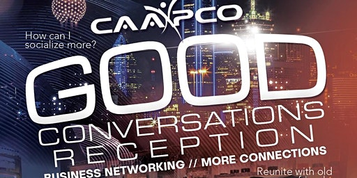 February 20, 2020 Good Conversations Reception