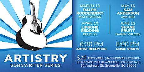 Artistry Songwriter Series -  Featuring Ralph Roddenbery with Matt Fassas  tickets