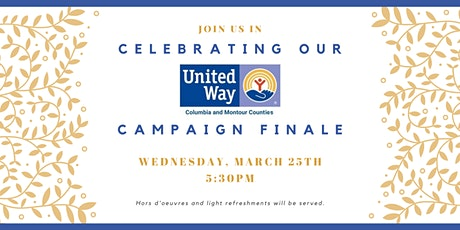 United Way CMC Campaign Finale Celebration tickets