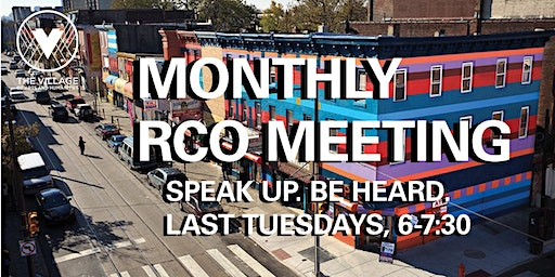 Monthly RCO Meeting at The Village