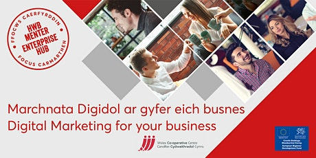 Marchnata Digidol ar gyfer busnes | Digital Marketing for business tickets