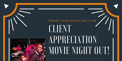 Client Appreciation Movie Night Out!