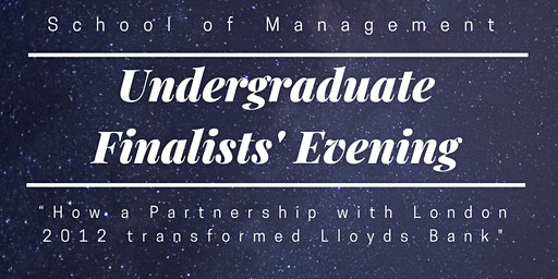 School of Management Undergraduate Finalists' Evening 2020