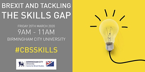 Brexit & Tackling the Skills Gap