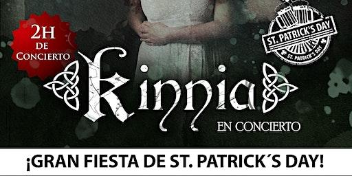 Concierto Celta de San Patricio con Kinnia
