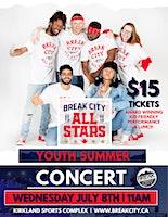 Break City All Stars YOUTH SUMMER CONCERT