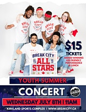 Break City All Stars YOUTH SUMMER CONCERT billets