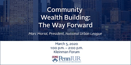 Community Wealth Building: The Way Forward tickets