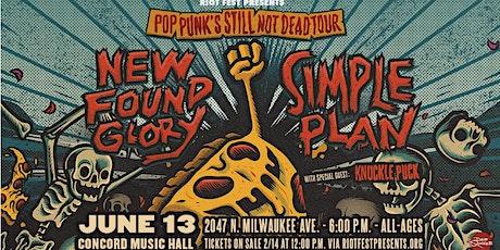 New Found Glory / Simple Plan - Pop Punk's Still Not Dead Tour tickets