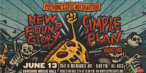 New Found Glory / Simple Plan - Pop Punk's Still Not Dead Tour