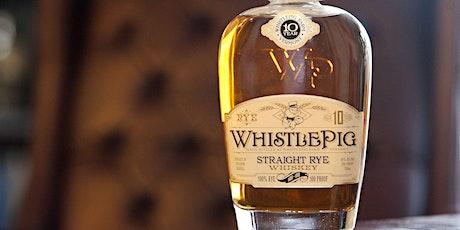 WhistlePig Whiskey Dinner tickets